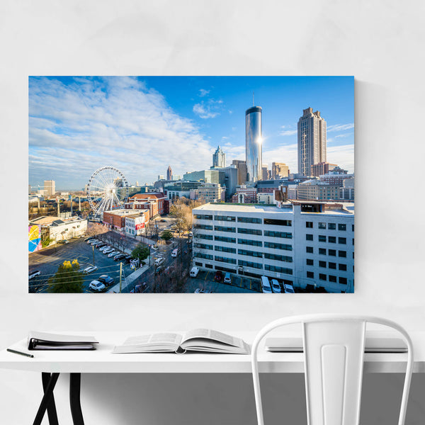 Atlanta, Georgia Skyline View Art Print