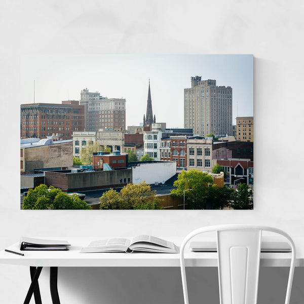 Reading Pennsylvania City Art Print