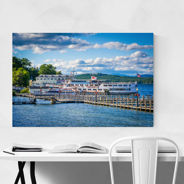 Lake Winnipesaukee Weirs Beach Art Print