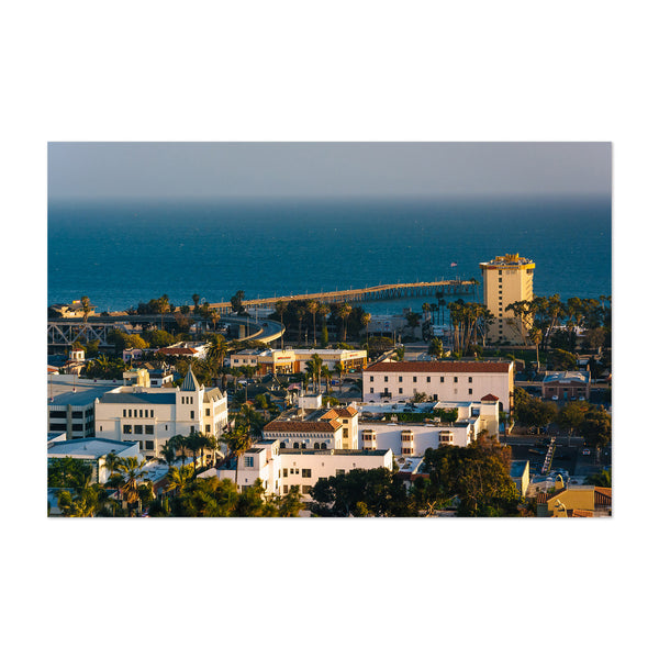 Ventura California Coastal View Art Print