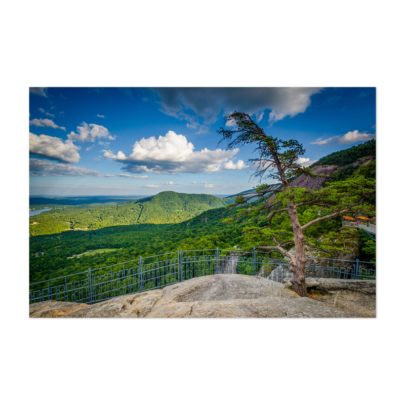 Chimney Rock North Carolina Art Print