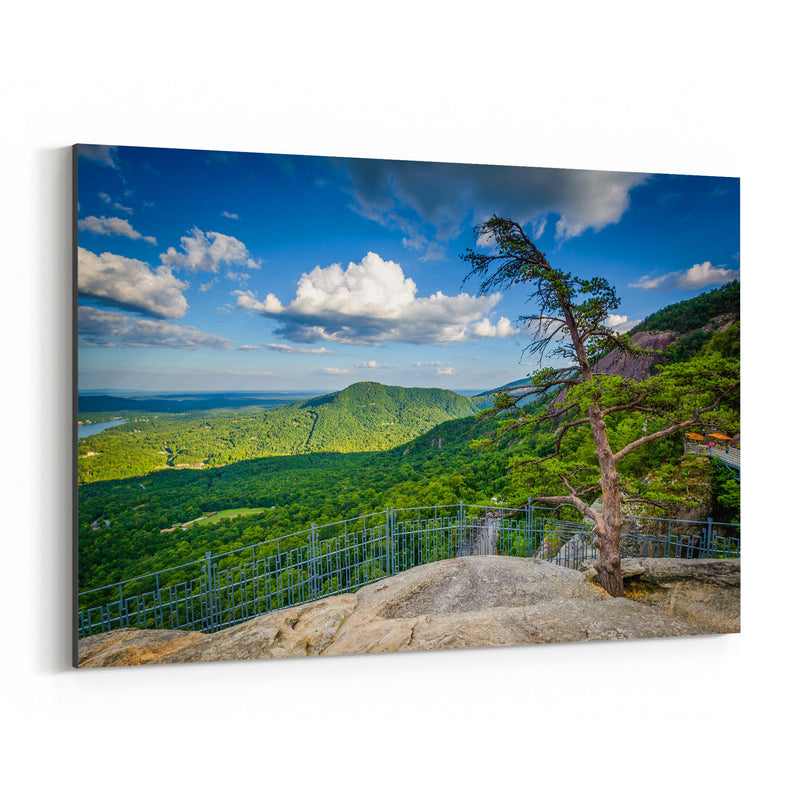 Chimney Rock North Carolina Canvas Art Print