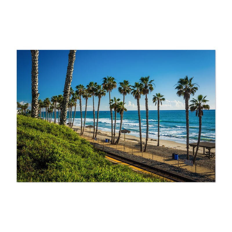 San Clemente California Beach Art Print