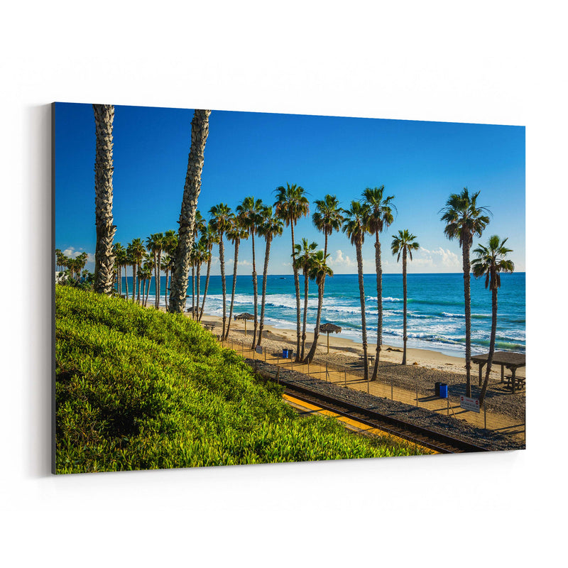 San Clemente California Beach Canvas Art Print