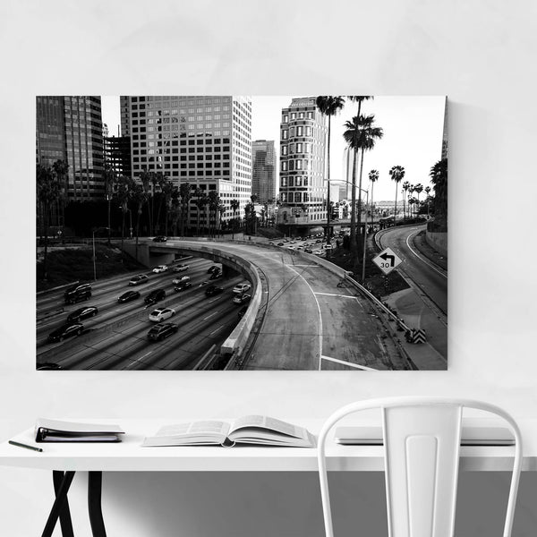 Downtown Los Angeles Skyline Art Print