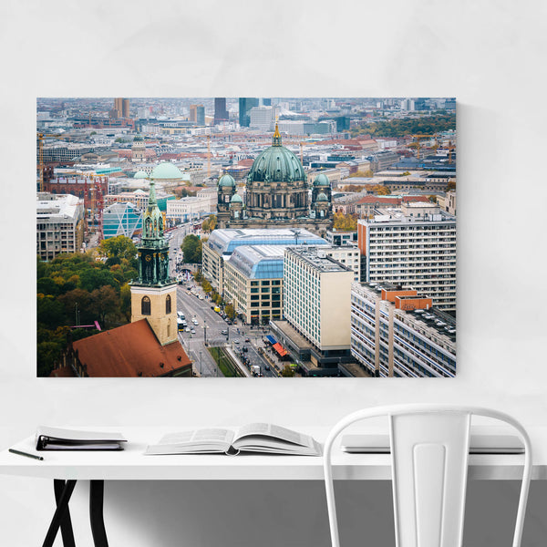 Berlin Germany Cathedral Urban Art Print