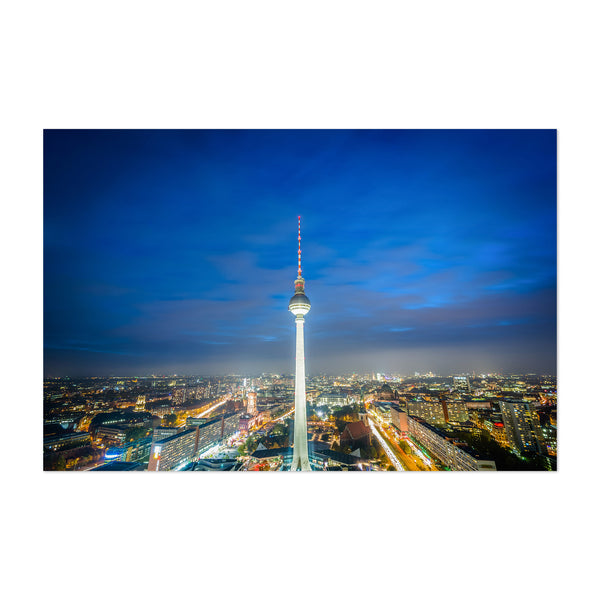 Berlin Germany Tower Cityscape Art Print