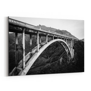 Bixby Bridge Big Sur California Canvas Art Print