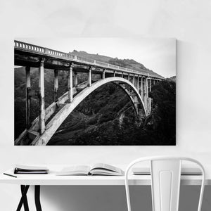 Bixby Bridge Big Sur California Art Print