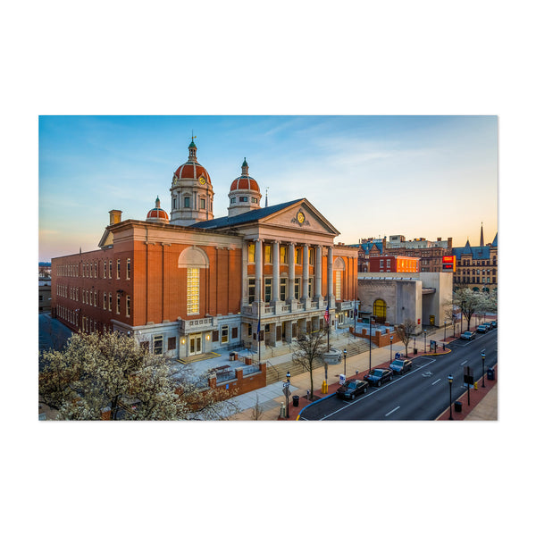 York County Courthouse PA Art Print
