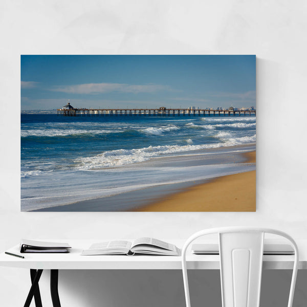 Beach Pier San Diego California Art Print
