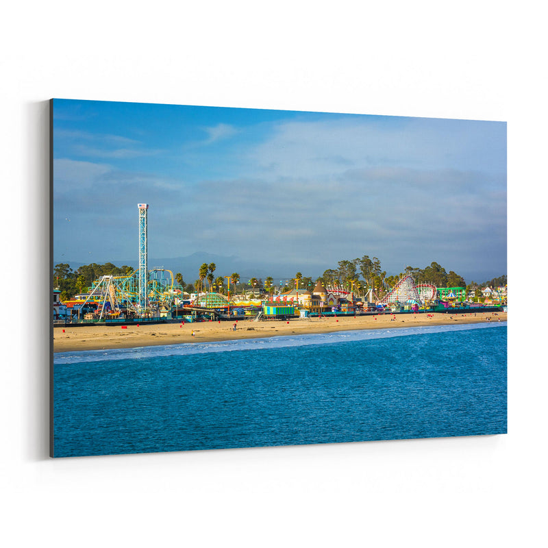 Santa Cruz California Boardwalk Canvas Art Print