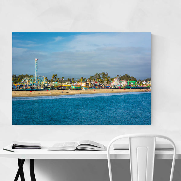 Santa Cruz California Boardwalk Art Print