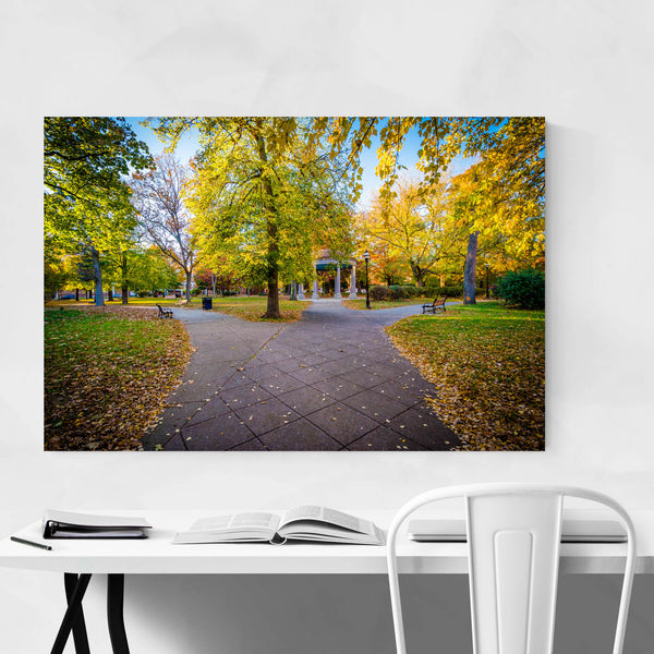 Baltimore Union Square Autumn Art Print