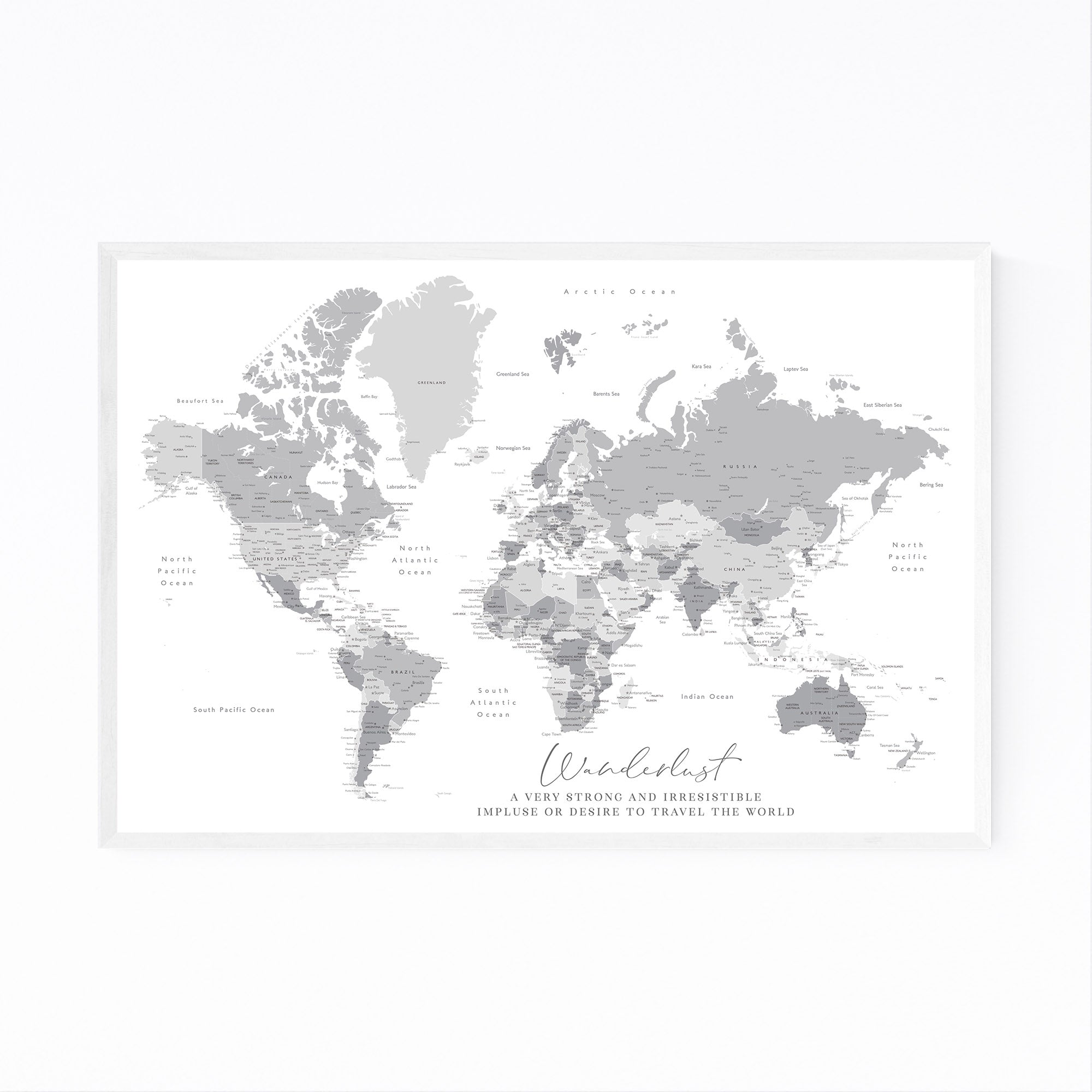 Wanderlust World Map with Cities in Gray on map of austria with cities, delaware map with cities, australia with cities geography, australia map of cities and parks, australia airports, large map of australia with cities, australia major map capital cities, australia cities and towns, physical map of germany with cities, australia flag, australia water current location latitude and longitude, brazil map with cities,