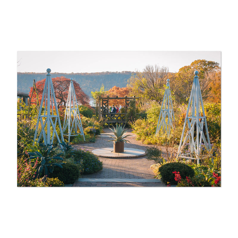 Wave Hill Gardens New York City Art Print