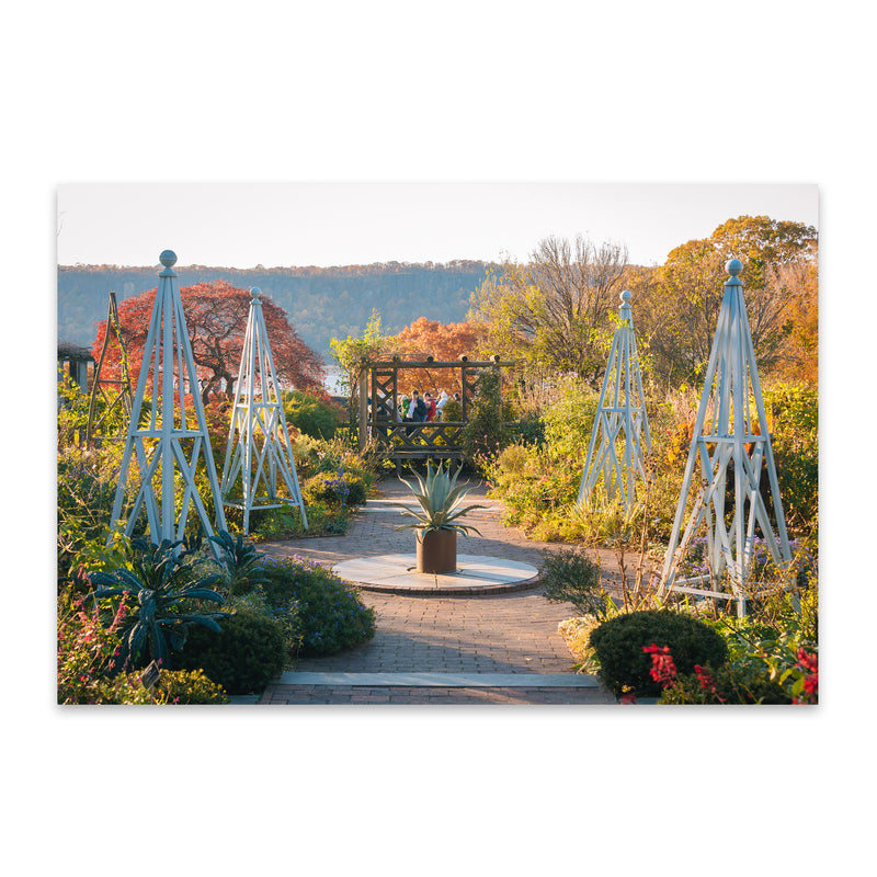 Wave Hill Gardens New York City Metal Art Print