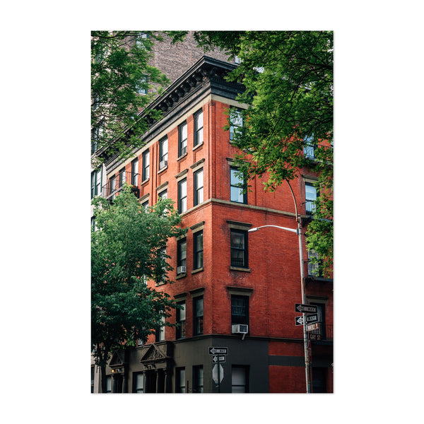 West Village New York City Art Print