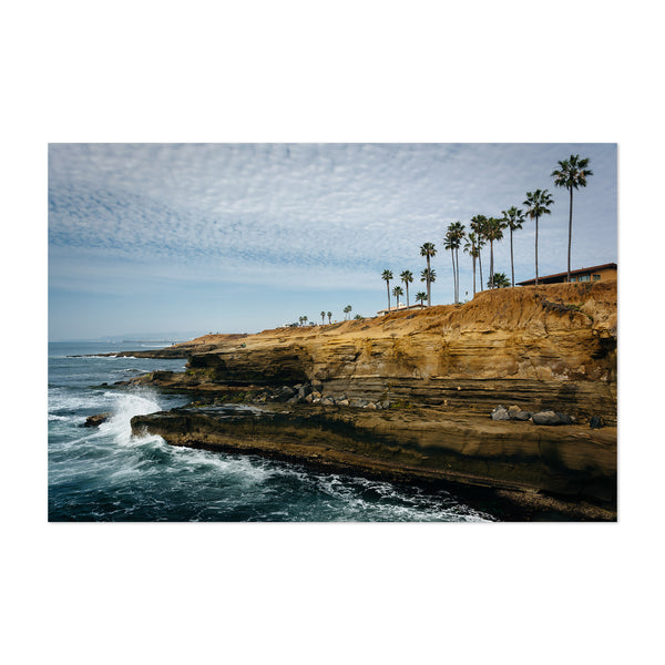 Coastal Point Loma San Diego Art Print