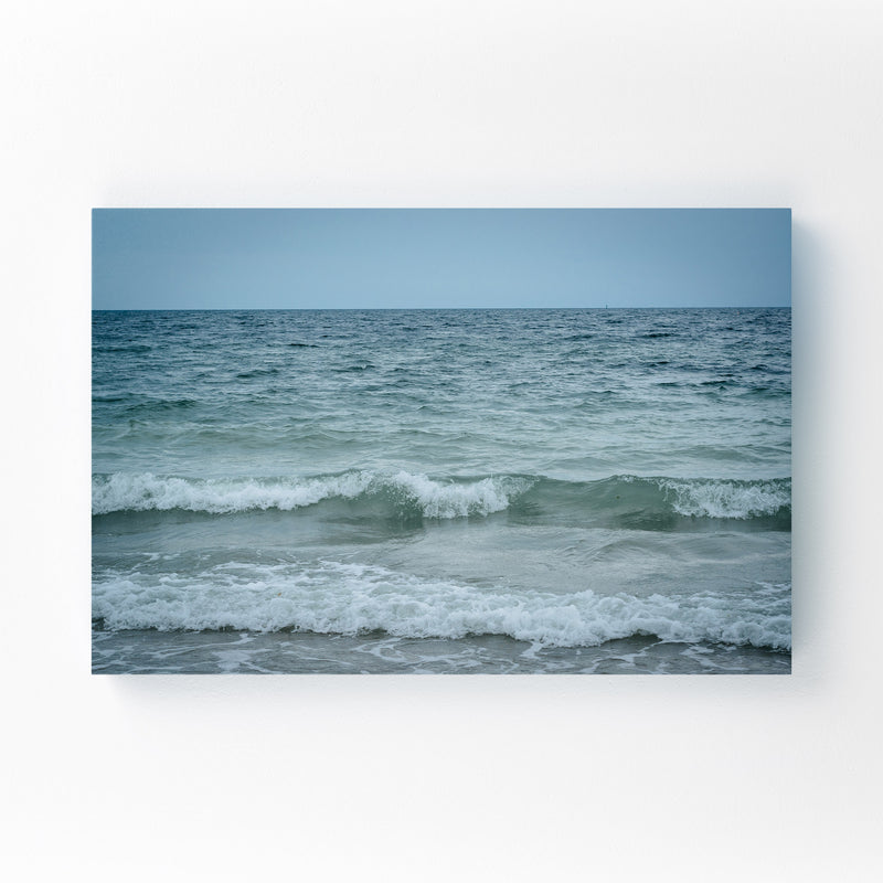 Cape Cod Beach Ocean Waves Canvas Art Print
