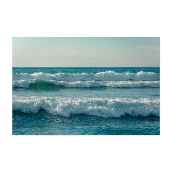 San Diego California Ocean Waves Art Print