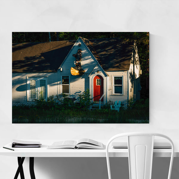 Abandoned Cabin New Hampshire Art Print