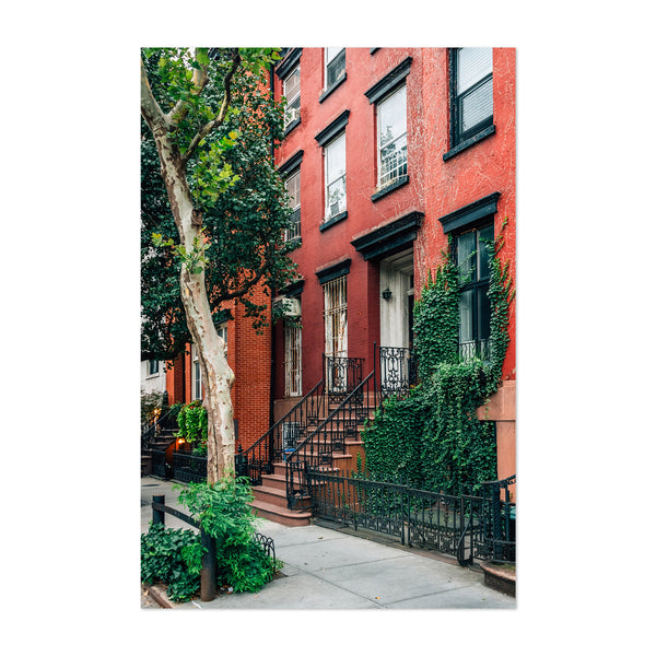 West Village House New York City Art Print