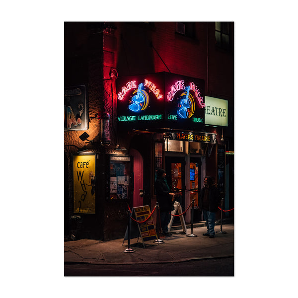 Cafe Wha West Village New York Art Print