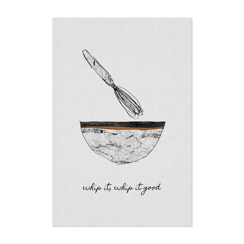 Kitchen Baking Food Quote Art Print