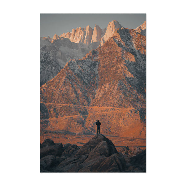 Mt. Whitney California Mountains Art Print