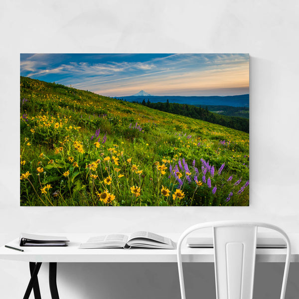 Oregon Mount Hood Landscape Art Print