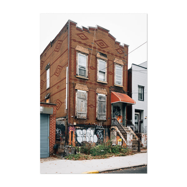 Williamsburg New York City House Art Print