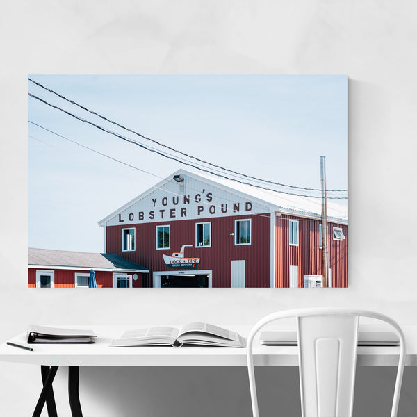 Lobster Pound Coastal Maine Art Print