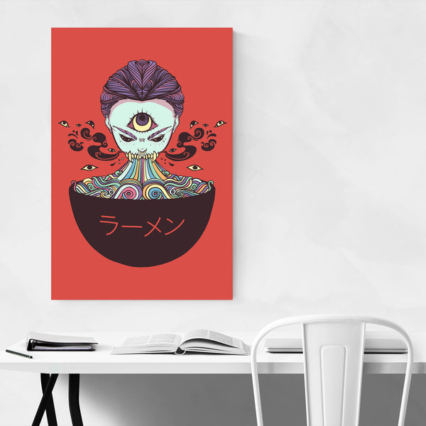 Third Eye Ramen Noodles Art Print