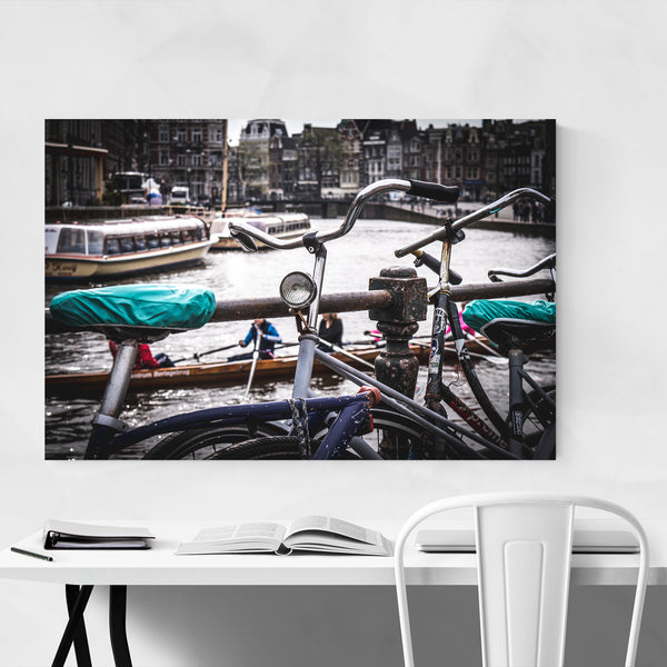 Amsterdam Netherlands Bike Photo Art Print