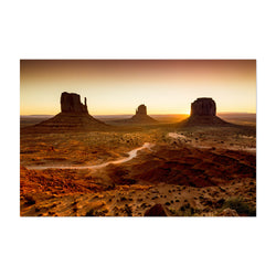 Monument Valley Arizona Desert Art Print