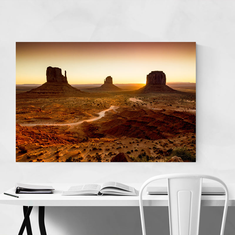 Monument Valley Arizona Desert Metal Art Print