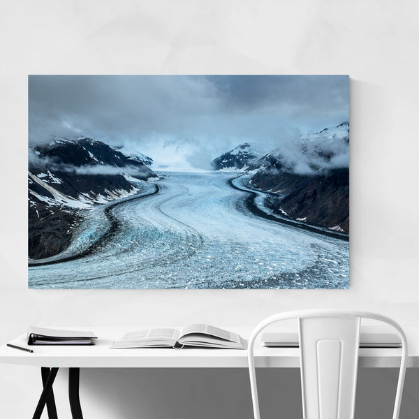 Glacier Steward British Columbia Art Print