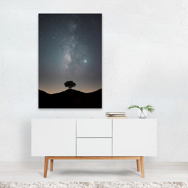 Udaipur India Astronomy Milky Way Art Print