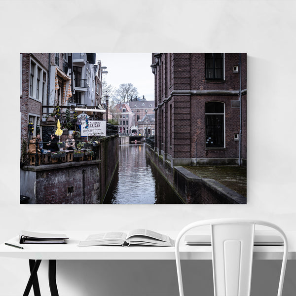 Amsterdam Netherlands Urban Photo Art Print