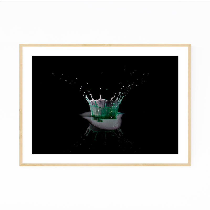 Abstract Kitchen Photo Framed Art Print