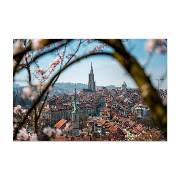 Bern Switzerland Cityscape Art Print