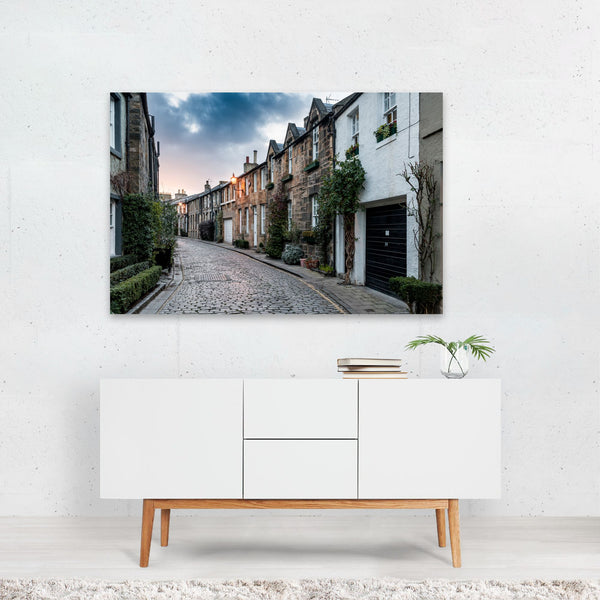 Edinburgh Scotland Street Scenes Art Print