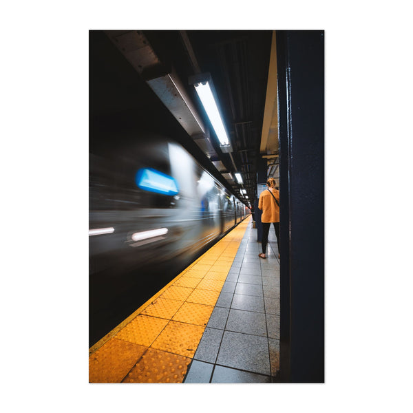 Manhattan New York Subway Photo Art Print
