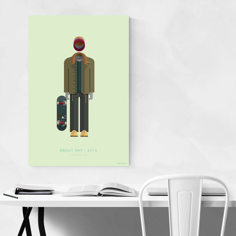 3 Generations Movie TV Illustration Art Print