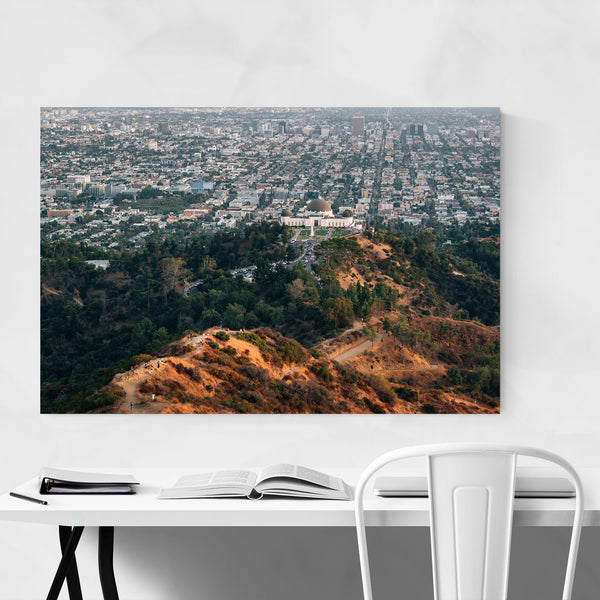 Griffith Observatory Los Angeles CA Art Print