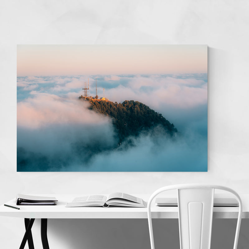San Gabriel Mountains California Art Print