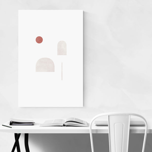 Abstract Modern Minimal Geometric Art Print