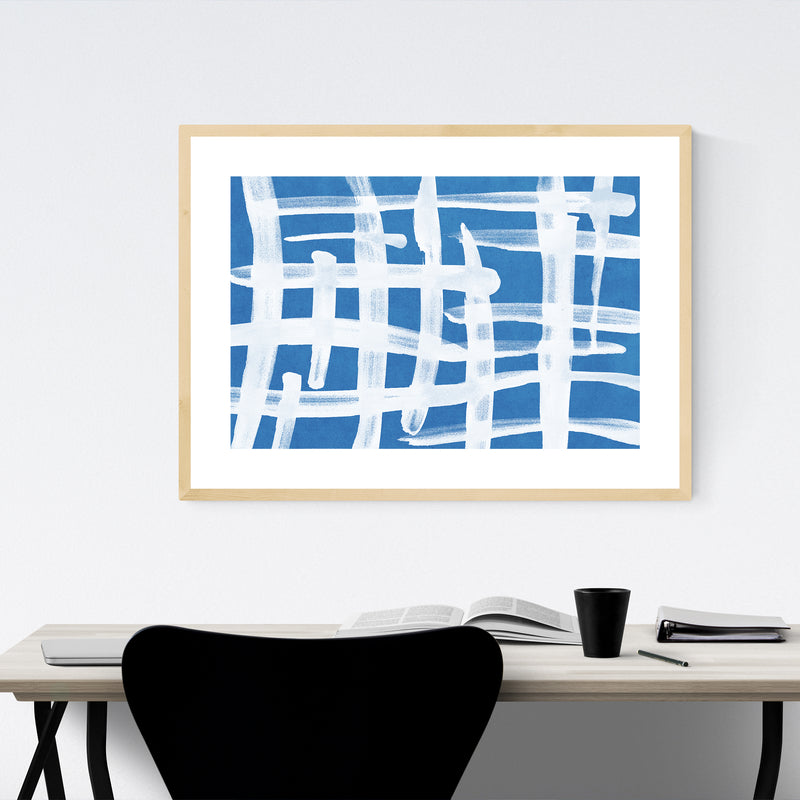 Abstract Minimal Scandinavian Design Framed Art Print