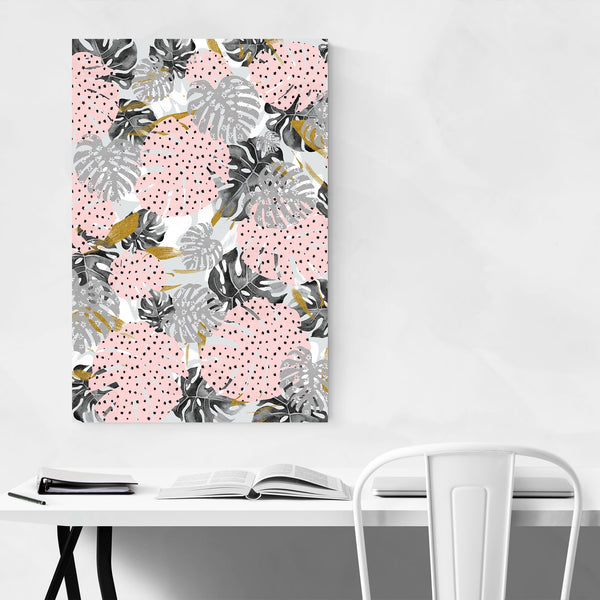 Abstract Monstera Botanical Art Print